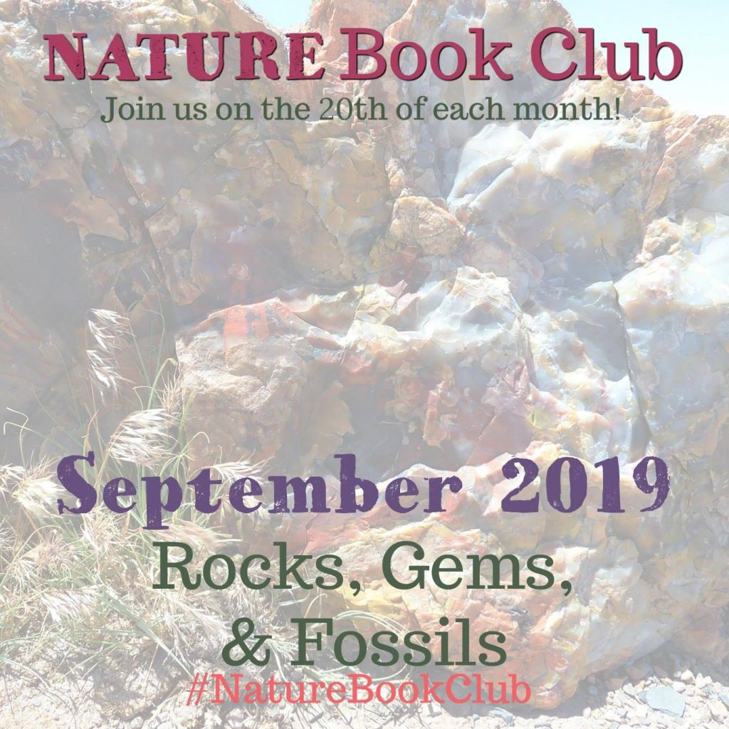 Nature Book Club September Linkup - Rocks, Gems, and Fossils