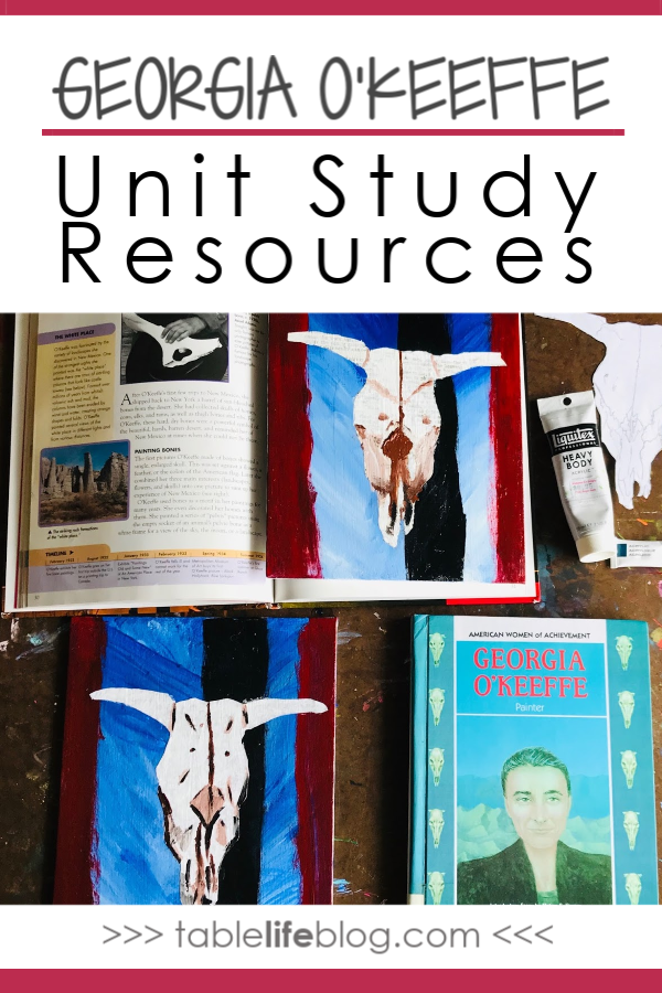 Meeting the Master Artists: Georgia O'Keeffe Unit Study Resources