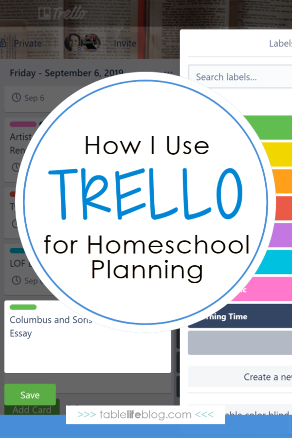 How I Use Trello for Homeschool Planning and Record Keeping