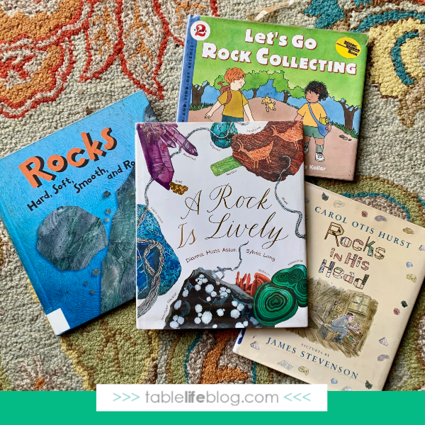 Nature Book Club - Eggshell Geodes Inspired by A Rock Is Lively