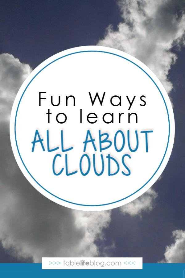 All About Clouds Unit Study Resources