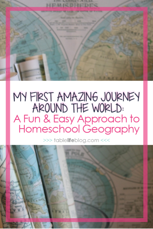 Need an easy, but engaging way to teach elementary geography in your homeschool? This online course is the way to go!