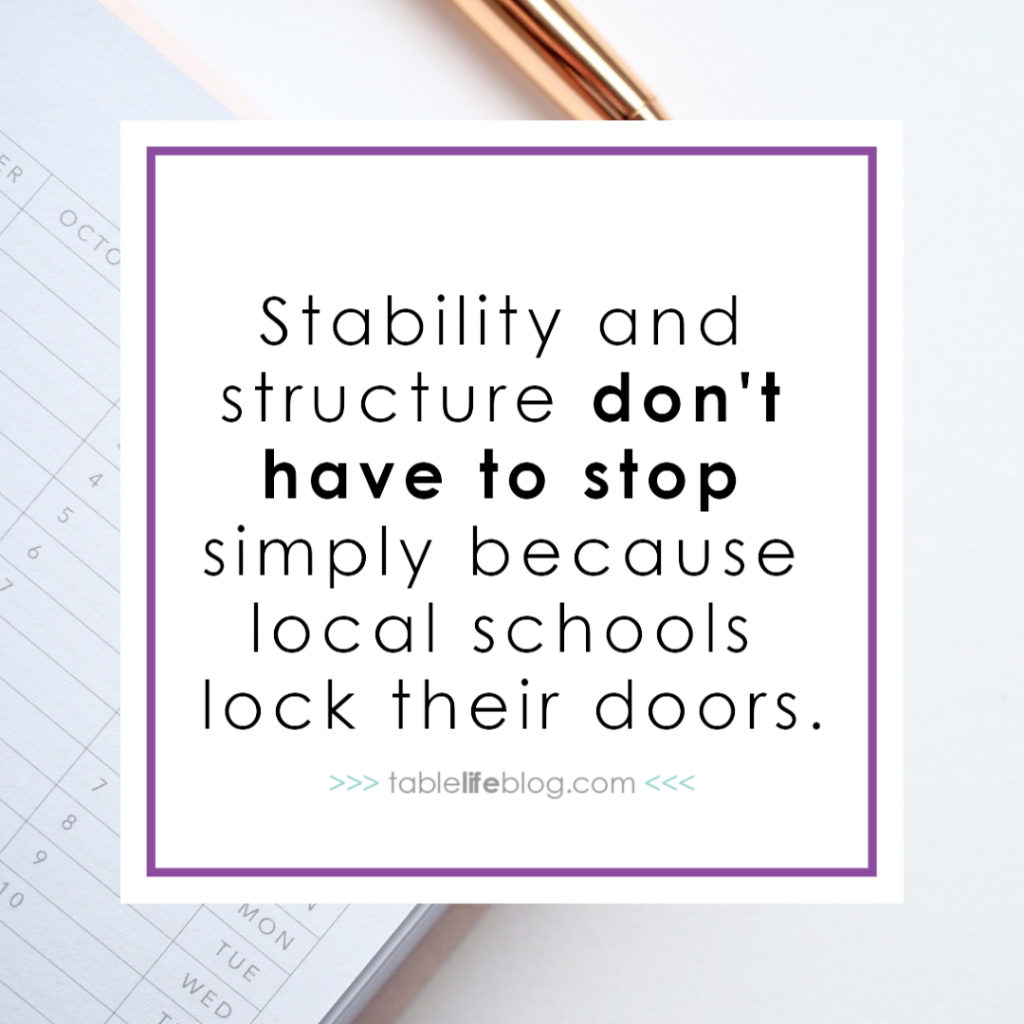 10 Benefits of Year Round Homeschool - Stability and structure don't have to stop.