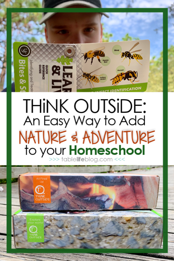 Take your learning outside with this homeschool subscription box