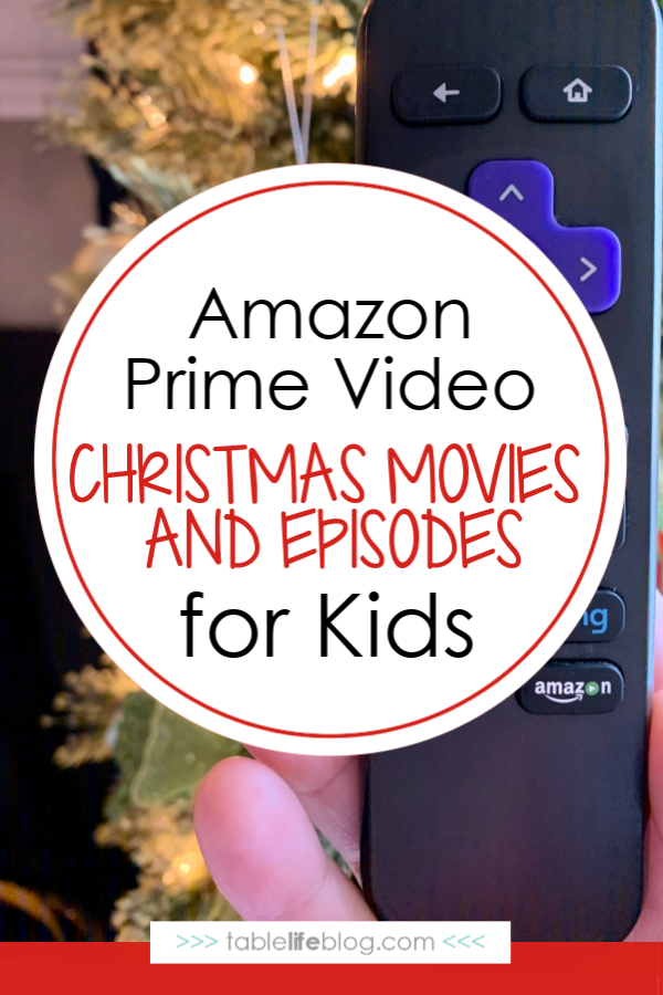 Amazon Prime Christmas Episodes & Specials for Kids