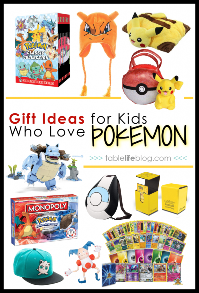 Our Favorite Pokemon Gift Ideas for Kids