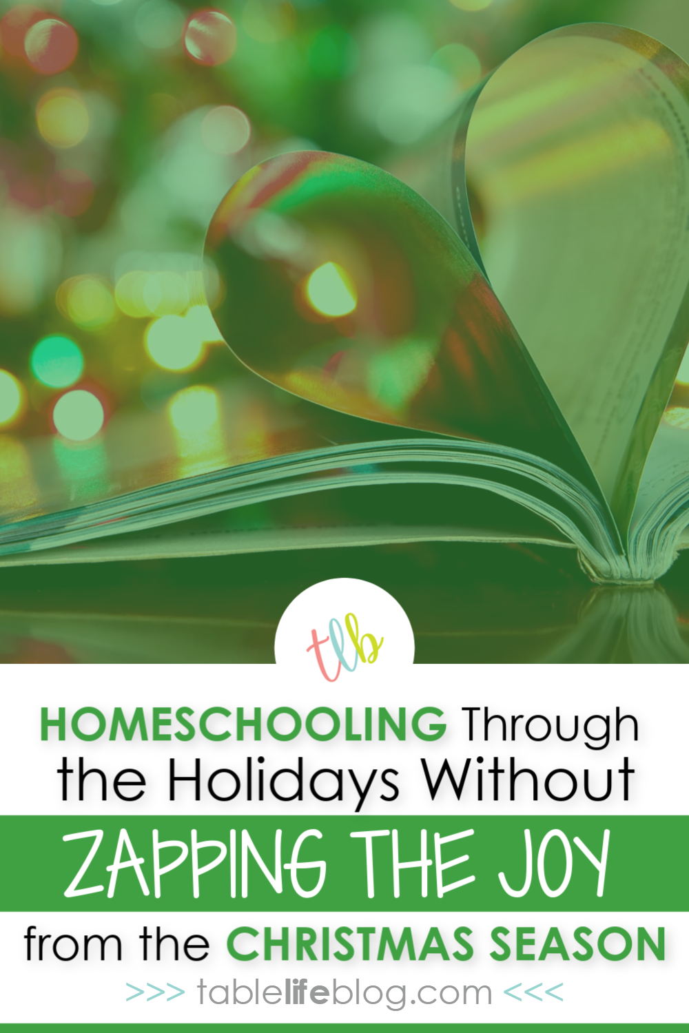 How We Homeschool Through the Holidays without Zapping Joy from the Christmas Season