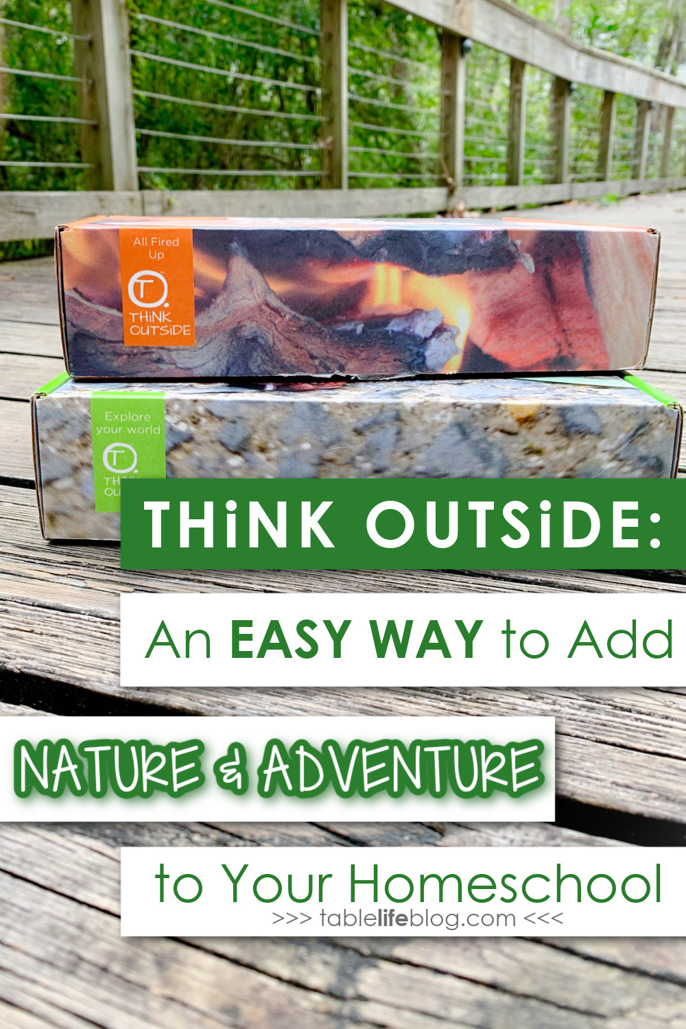 Need some nature study inspiration? This homeschool subscription box makes it easy to get outside and make nature a normal part of your homeschool life!