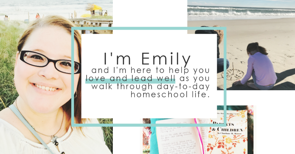 I'm Emily and I'm here sharing practical ideas for home education and encouragement to help you make the most of the moments around the table. Let's do this!
