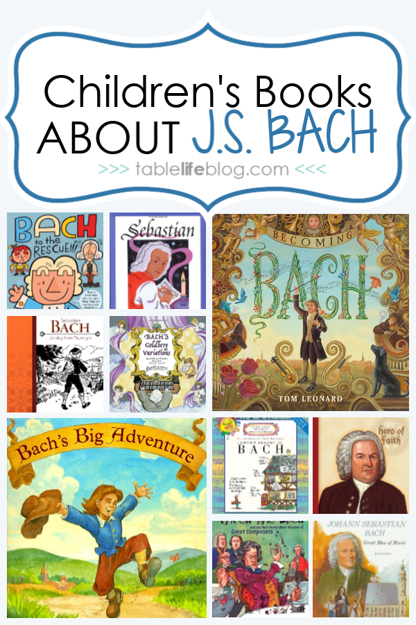 What to Read: Children's Books About J.S. Bach