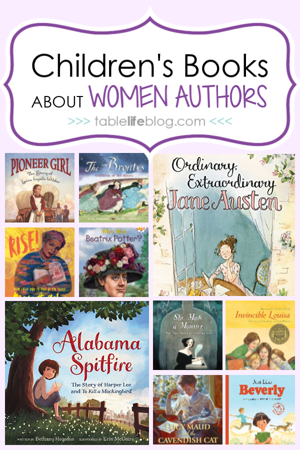 What to Read: Children's Books that Celebrate Women Authors