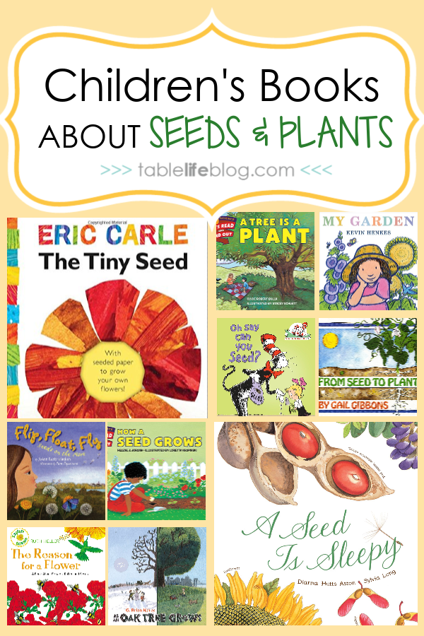 20 Children's Books about Seeds and Plants