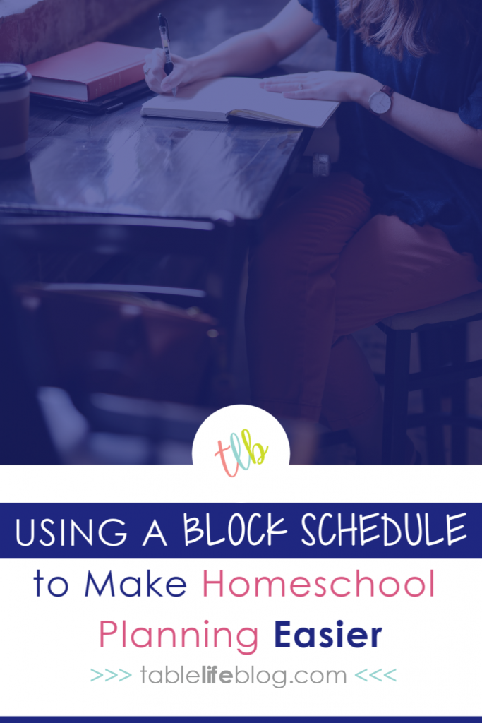Wondering if a block schedule can work for your homeschool schedule? Here's how one homeschool family uses it, along with tips to make it work for you.