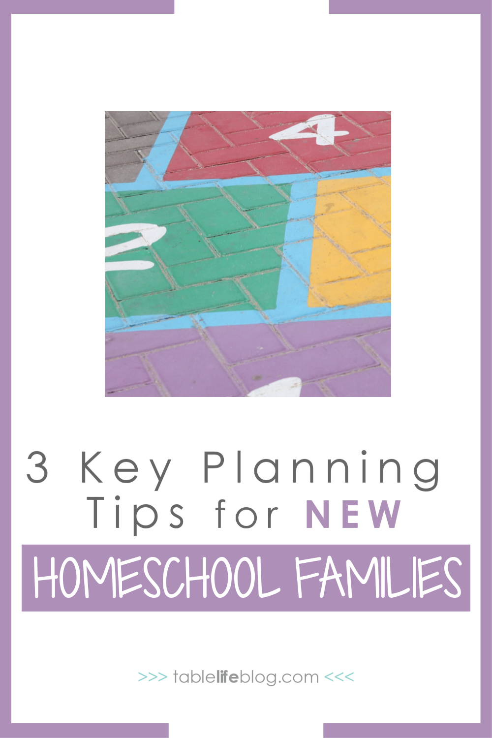 Don't let the planning process overwhelm you if you're new to homeschooling. Here are 3 key things to keep in mind if you're making plans for your first year of homeschooling.