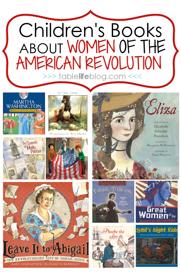 Children's Books About the Women of the American Revolution