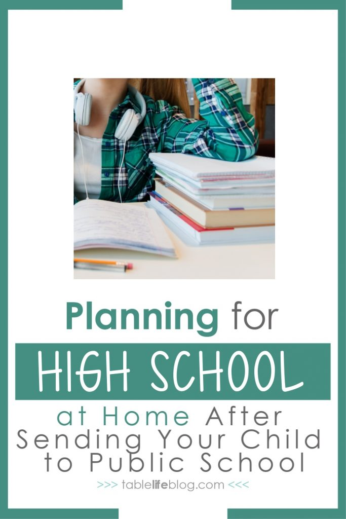 How to Plan High School at Home After Sending Your Child to Public School