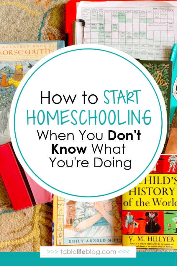 Not sure how to start homeschooling? Whether you're moving to homeschool temporarily or for the long haul, these ideas can help!