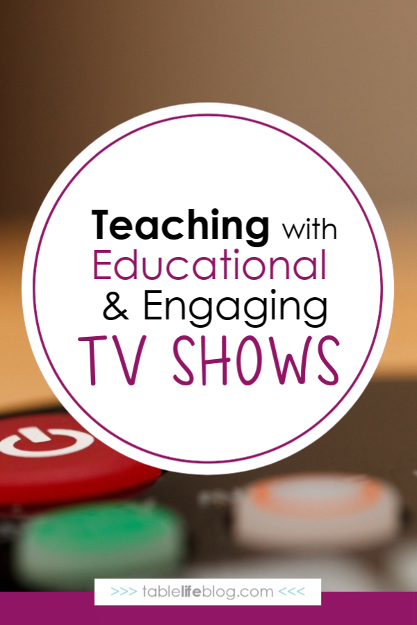 Learning with TV Shows: Because Screen Time Isn't Always Bad
