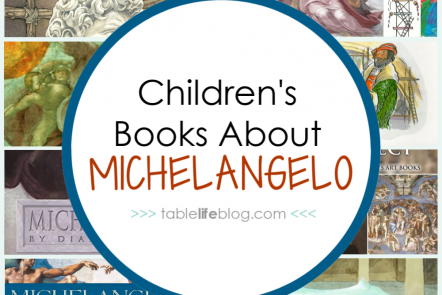 Are you planning to study the life and art of Michelangelo Buonarroti in your homeschool? Good news: we've got a fun list of children's books about Michelangelo to help you learn!