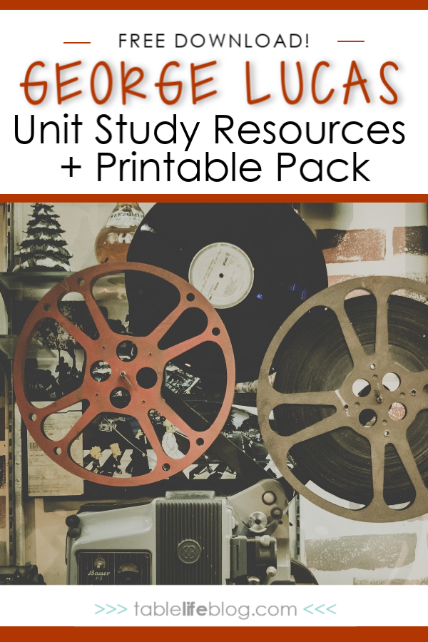 Do your kids love all things Star Wars? If so, it's time to bring the Force to your homeschool through a George Lucas Unit Study. An added bonus, you can even study filmmaking and storytelling in the process.