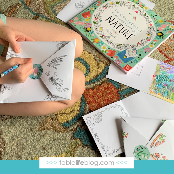 This coloring book is a lovely way to get creative and celebrate Earth Day with family and friends.