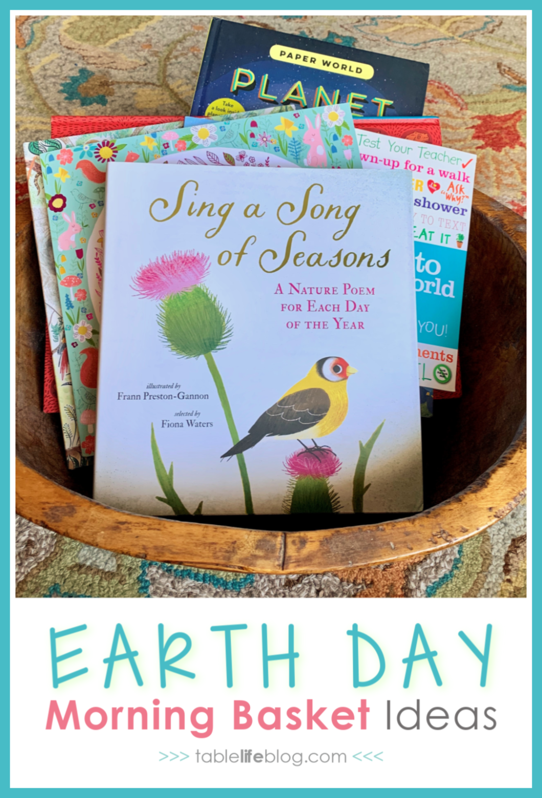 Looking for Earth Day Morning Basket ideas? We've got you covered with reading suggestions and hands-on nature-inspired fun.