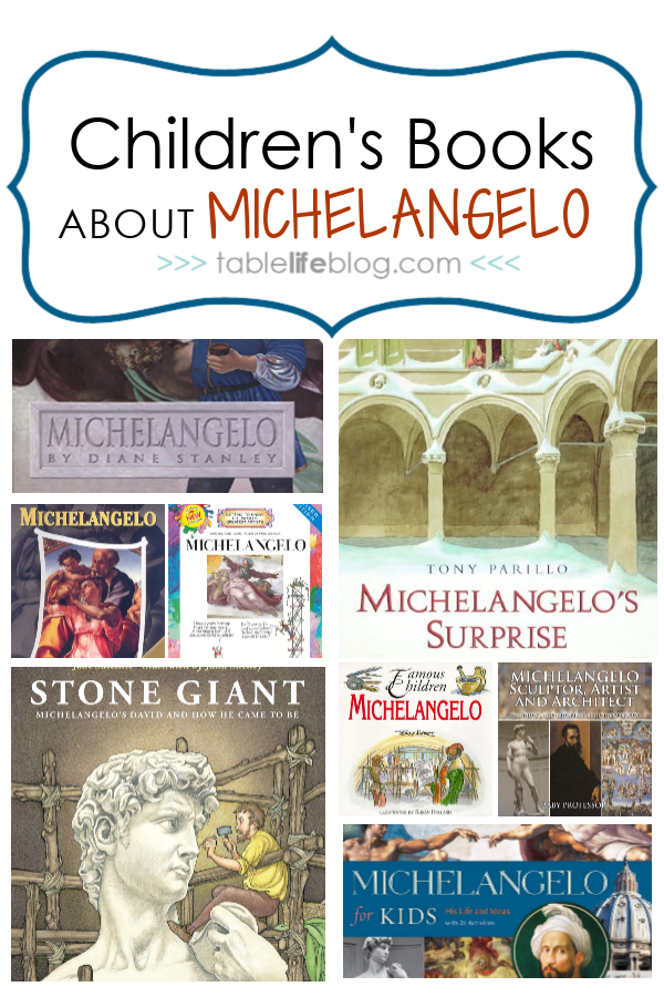 What to Read: Children's Books About Michelangelo