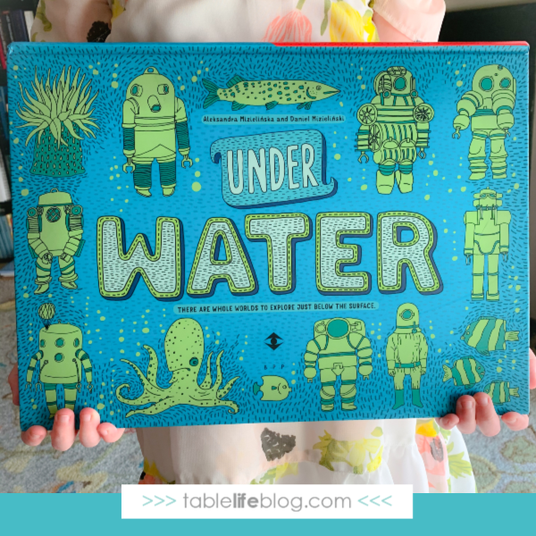 Explore the world below by adding Under Water, Under Earth to your Earth Day Morning Basket!
