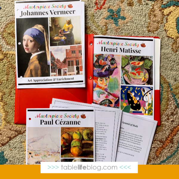 Our Charlotte Mason-Inspired 10th Grade Homeschool Curriculum Choices - art instruction and art appreciation plans