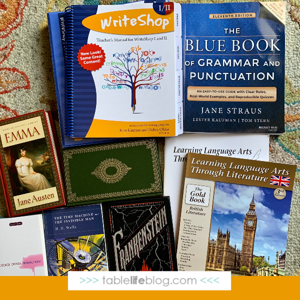 Our Charlotte Mason-Inspired 10th Grade Homeschool Curriculum Choices - Language Arts Selections