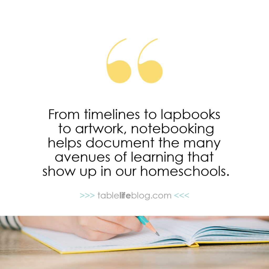 Why teach with notebooking?