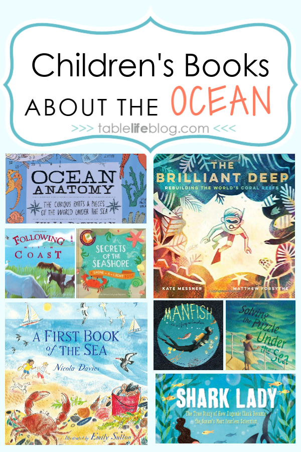 Studying the ocean with your kids or planning your next family trip to the beach? Either way, add these books about the ocean to your read aloud pile.