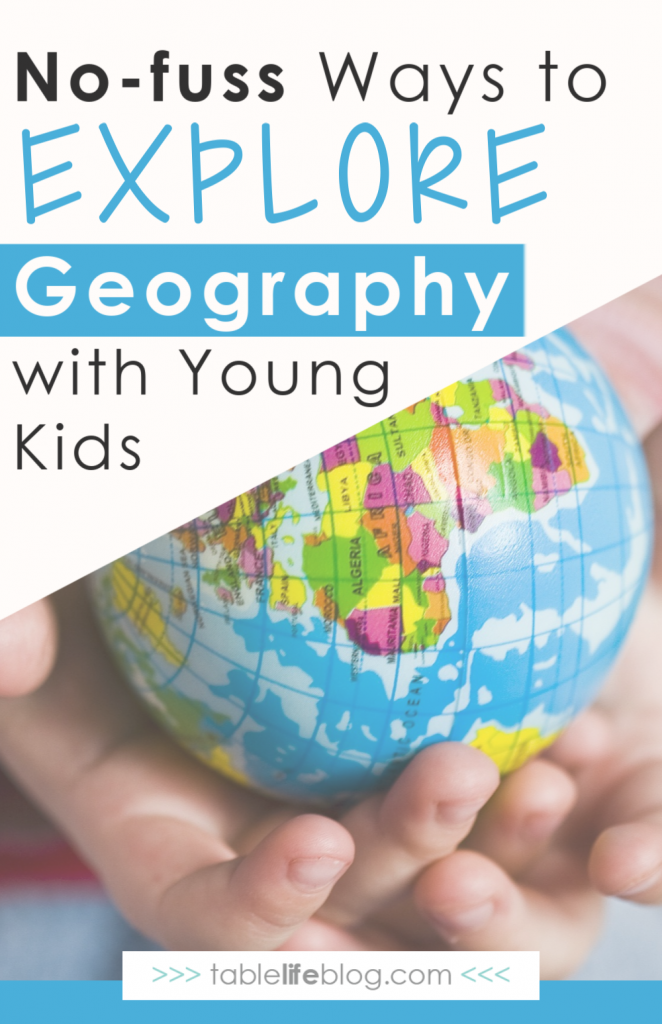 Want to teach geography to your young children, but don't have time for tons of planning or complicated steps? Here are three easy ways to explore new places and meet new people that can easily become a regular part of your regular learning routine.