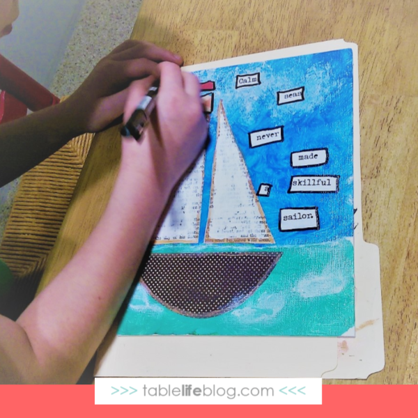 8 Fun and Easy Summer Art Ideas for Kids - summer-themed mixed media projects