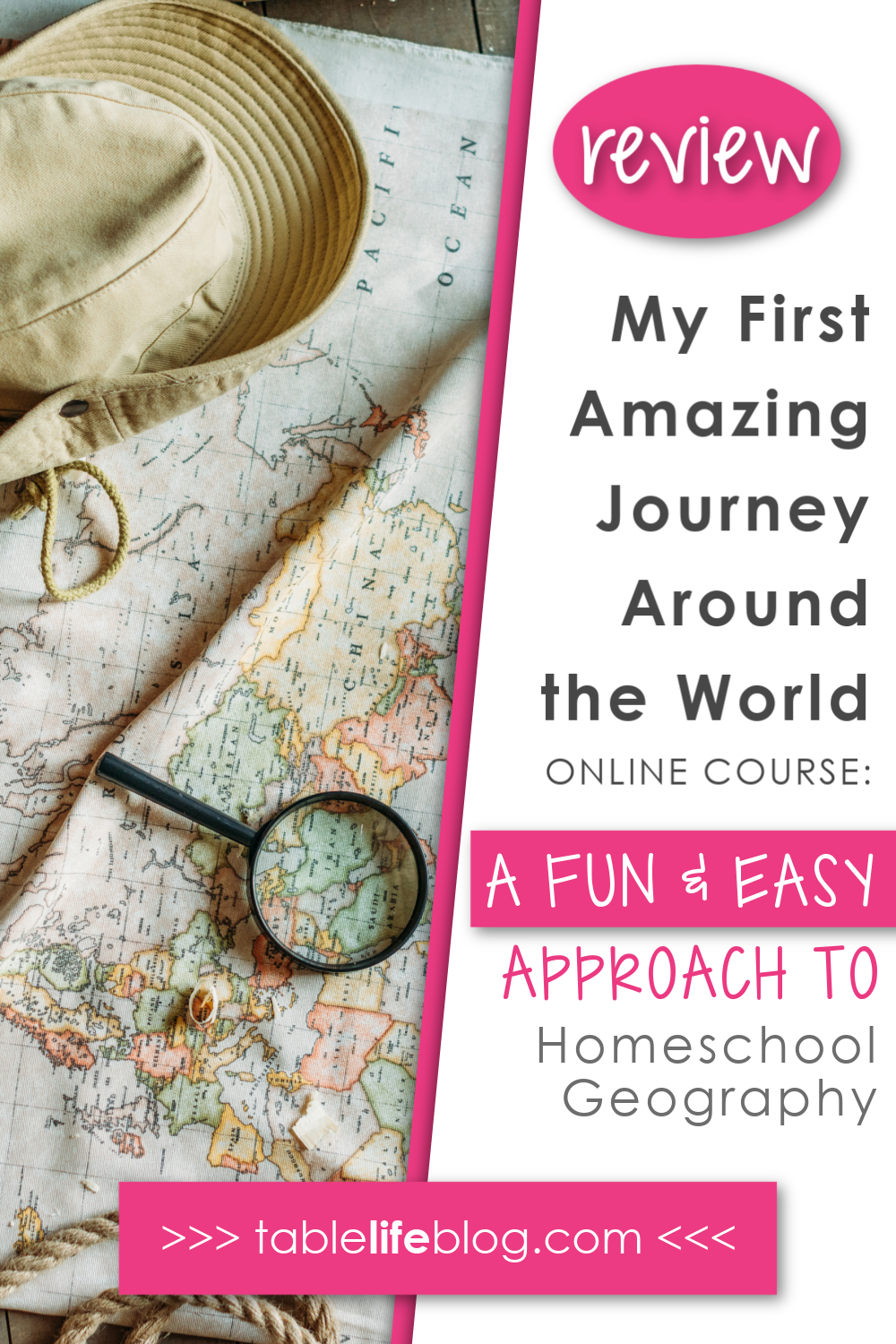 Need an easy and engaging way to teach elementary geography in your homeschool? I have a great solution for you!