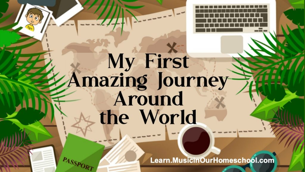 Music in Our Homeschool's Online Geography Course for Elementary Grades