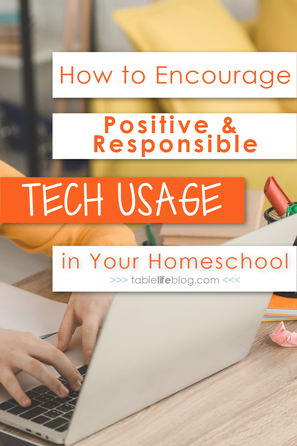 Don't be afraid to use technology in your homeschool! Instead, teach your kids they can use it responsibly to enhance their learning.