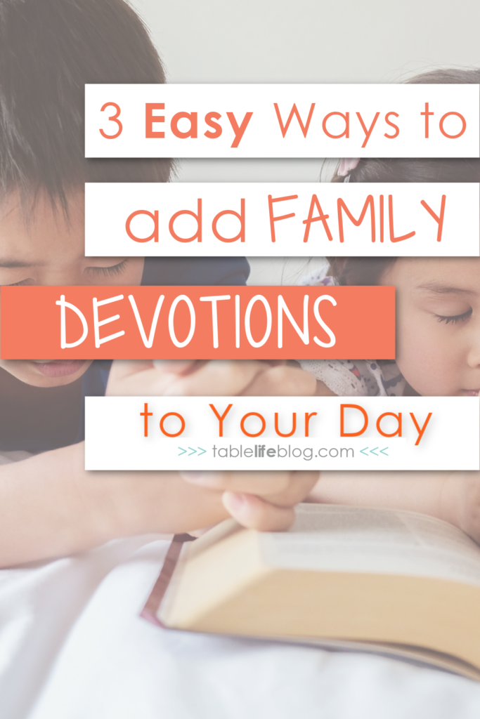 Feeling overwhelmed by family devotion time? We've got simple tips to help you make it a regular part of your busy routine.