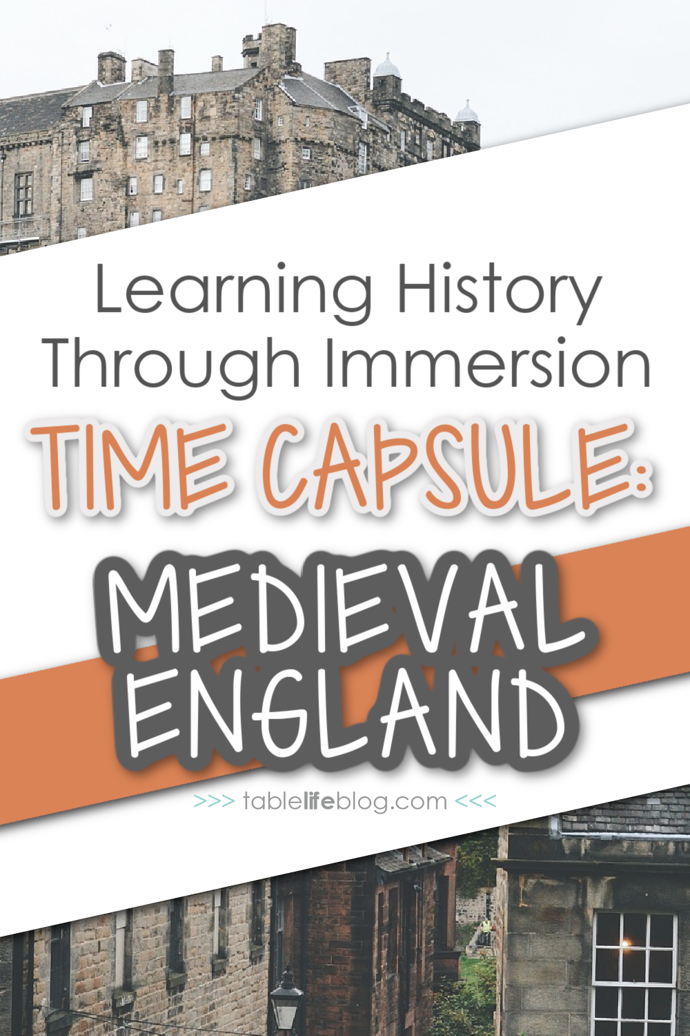 This Medieval England Unit Study is a perfect way to dive into the Middle Ages in your homeschool!