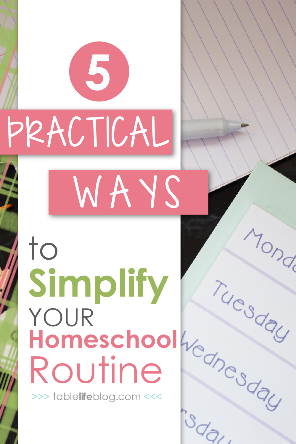 Simplified homeschool days set a breathable pace & maintain a love for learning.