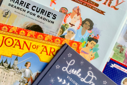Looking for biographies to read while studying women's history with your kids? Here are 75+ children's books about women who have changed the world.