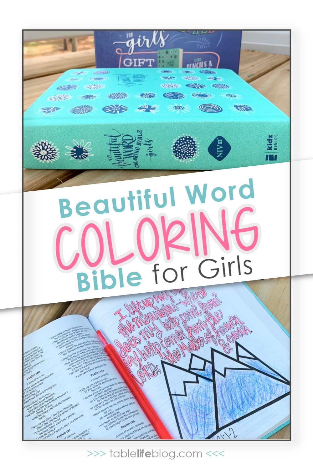 Looking for a Bible to give to a special girl in your life? Here's what you need to know about the Beautiful Word Coloring Bible for girls.