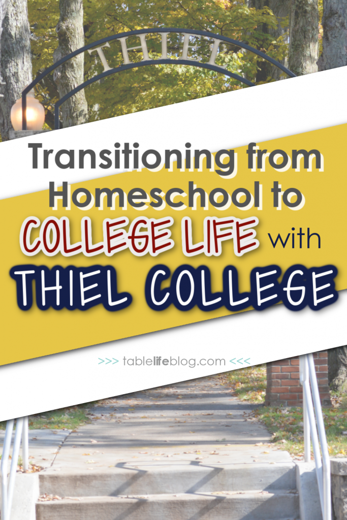 Looking for a college that provides a smooth transition to college life for homeschooled students? Thiel College has you covered!