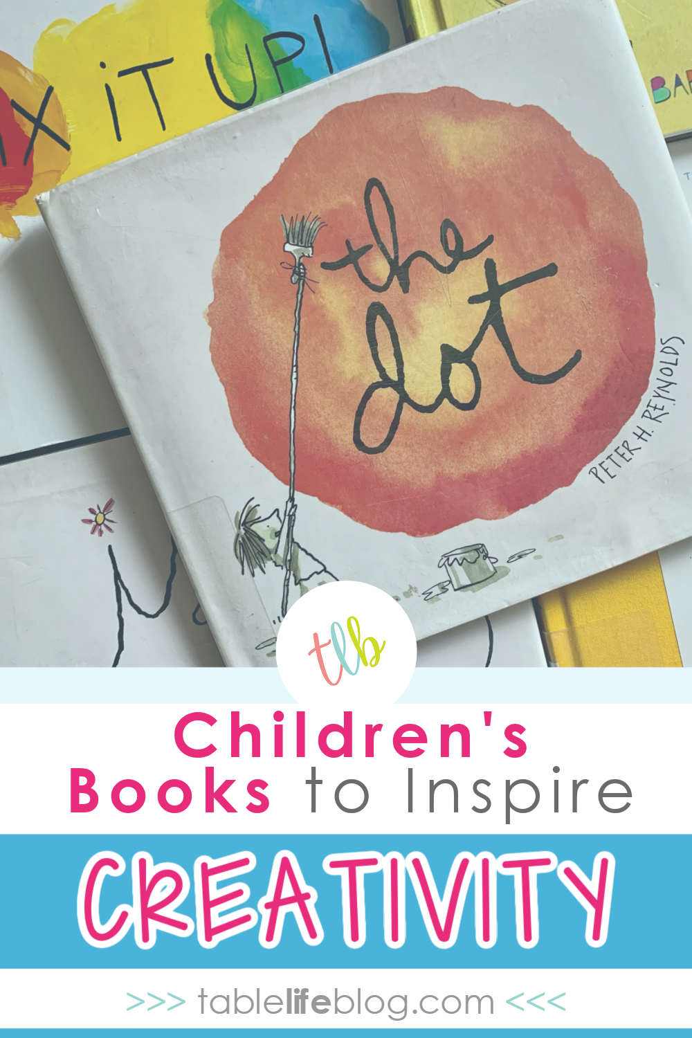 Want to share some creative encouragement with your kiddos? We've got you covered with this fun list of picture books to inspire creativity!
