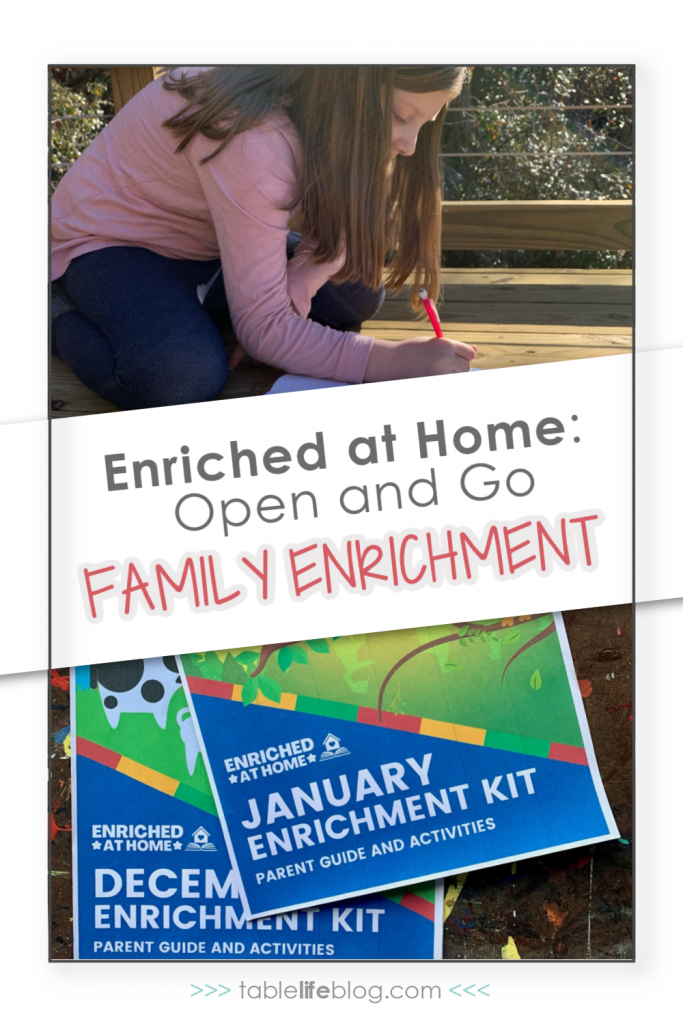 Enriched at Home: Open and Go Family Enrichment Inspired by Charlotte Mason