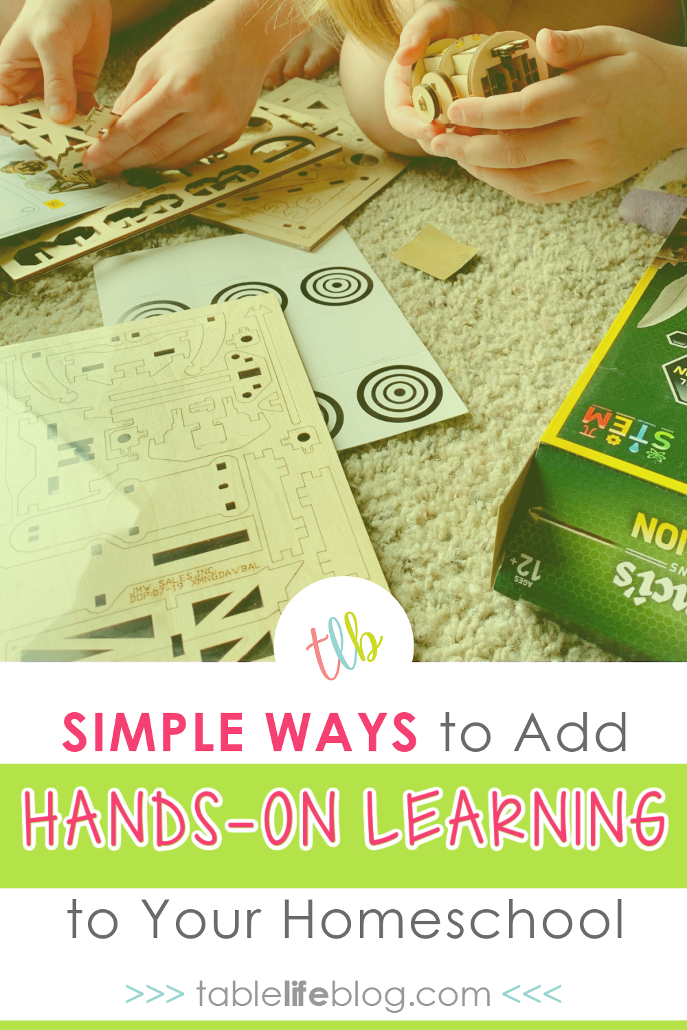 Need help adding hands-on learning to your homeschool routine? These 3 easy ways can help you make it a regular part of your days.