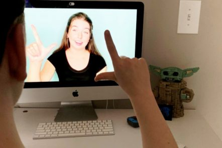 ASL with Mr. D Math: An Easy Way for Homeschooled Teens to Learn American Sign Language