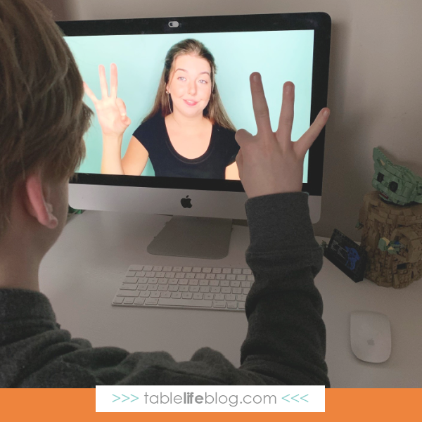 Learn ASL online with Mr. D Math's ASL courses for homeschool.