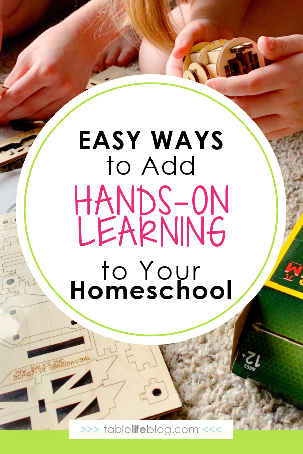 Want to make hands-on learning a regular part of your homeschool, but need help making it happen? We've got you covered with these easy ideas.