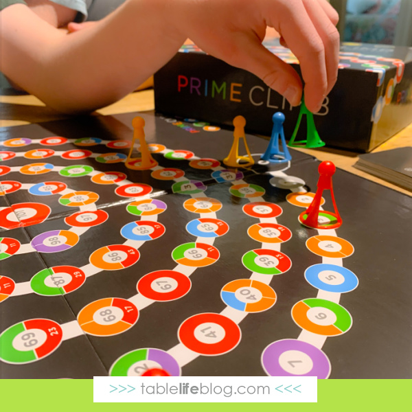 Games like Prime Climb promote hands-on math learning through playing games.